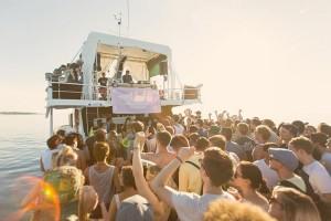 croatie festival boat party