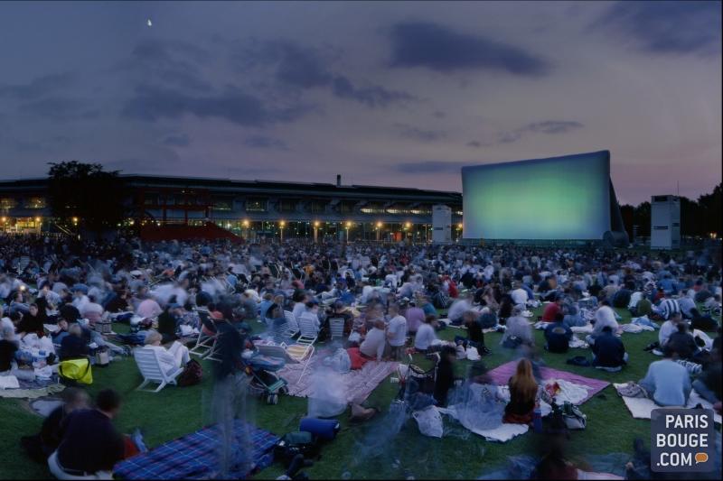 cinema plein air paris