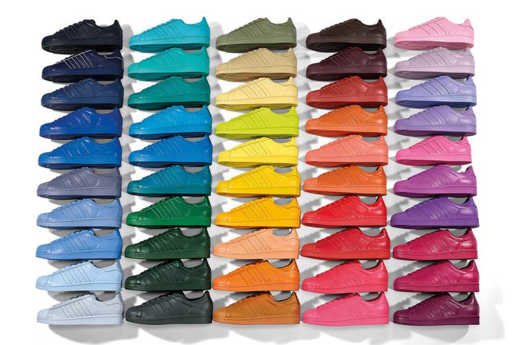 Adidas Originals x Pharrell Williams Superstar Supercolor
