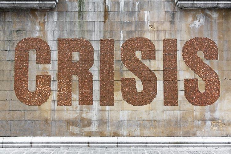 spy crisis street art