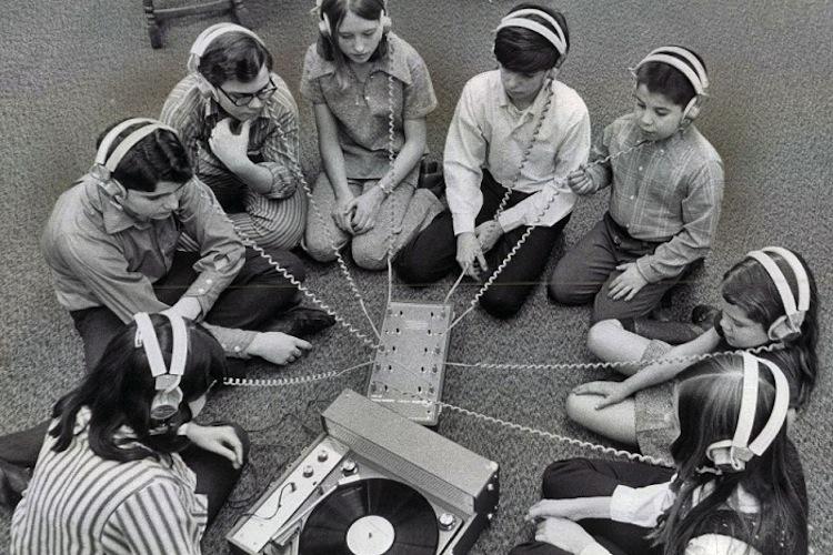 Vinyl records kids