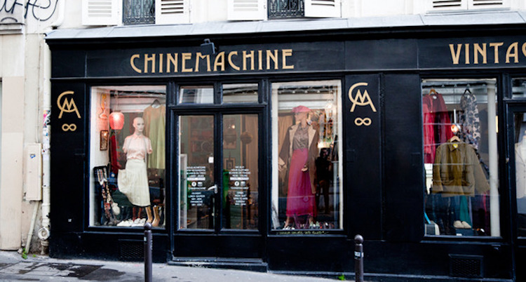 Chine Machine friperie paris