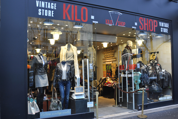kilo shop friperie paris marais
