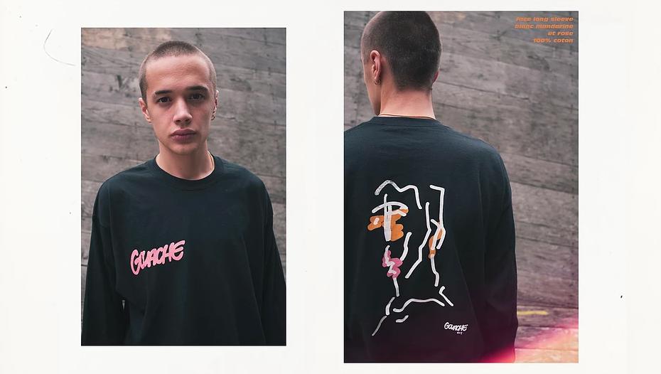 Gouache streetwear