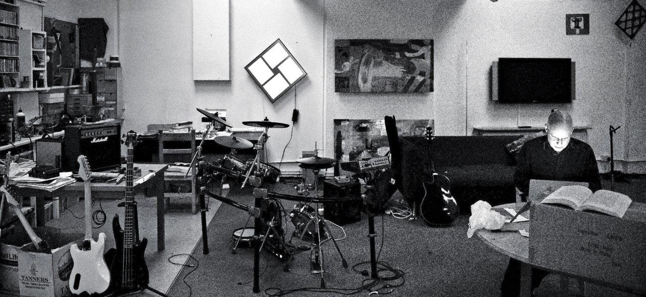 Brian Eno studio