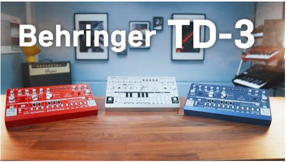 Behringer Clones TD-3